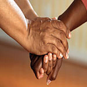 hands-clasped