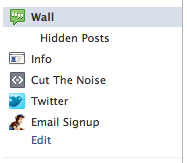 Facebook Side Bar Navigation Can Now Be Organized In 3 Easy Steps