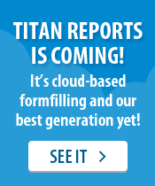 Titan Reports is coming!