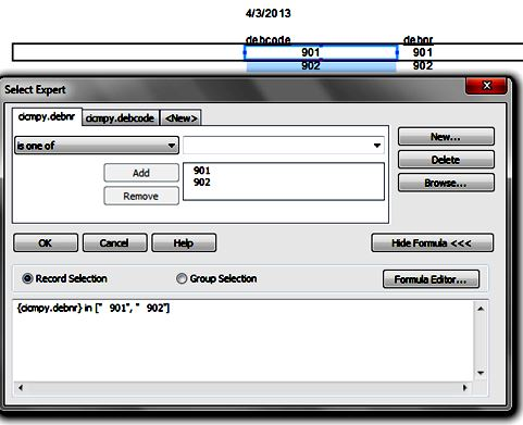 crystal reports help