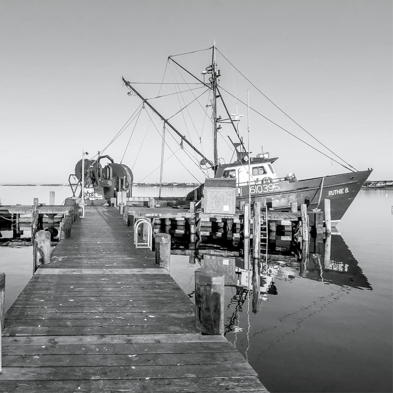 Commercial Wharf. Photography by Greg Hinson