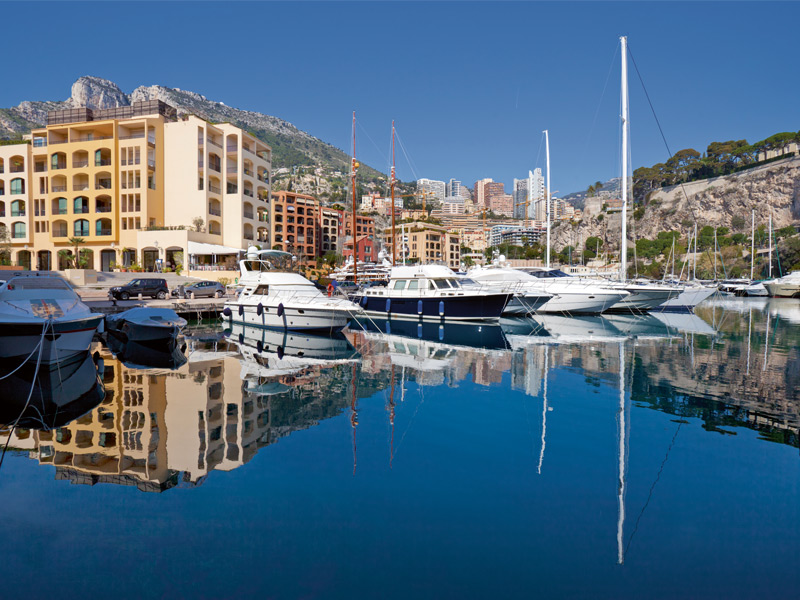 The Côte d'Azur remains an elite yachting capital. Photograph: Getty Images