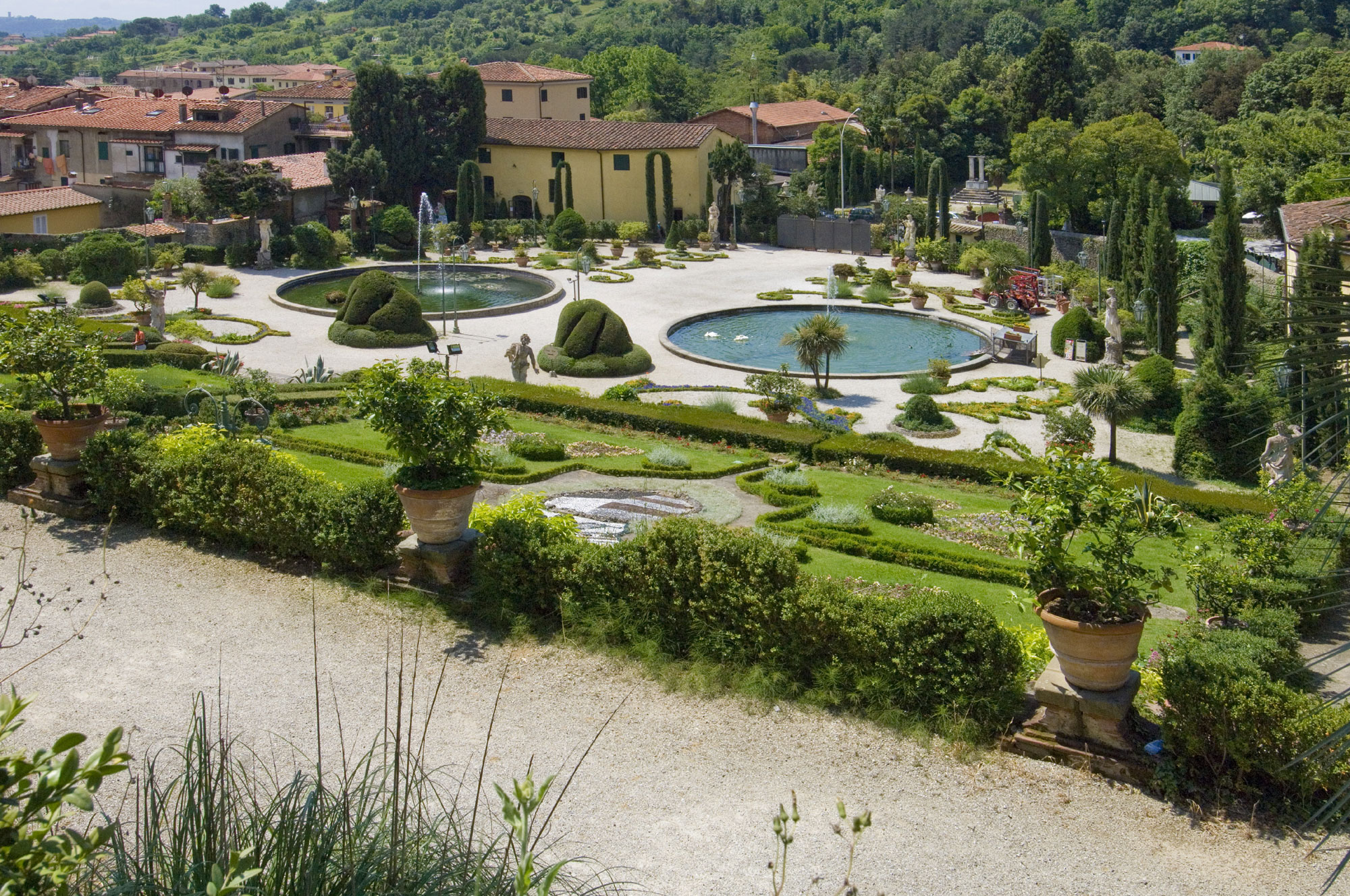 Villa Garzoni Pinocchio, a magnificent baroque villa near Lucca, Tuscany, was the childhood home of Carlo Lorenzini (better known as Carlo Collodi) and the place of inspiration for this most famous work, The Adventures of Pinocchio.
