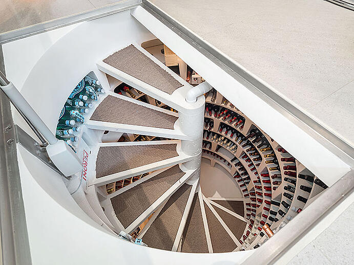 How to build the perfect wine cellar for Spiral wine cellar cost