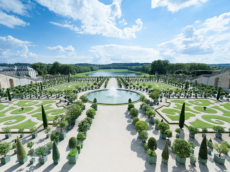 The Palace of Versailles southwest of Paris was formerly a hunting lodge and private retreat forLouis XIIIand his family. Photograph: Alamy
