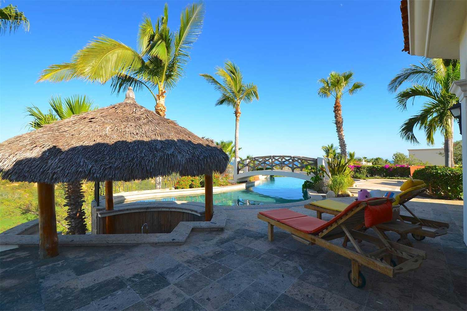 <b>San Jose Del Cabo, Mexico</b><br/><i>5 Bedrooms, 4,949 sq. ft.</i><br/>Resort-style villa with golf course views