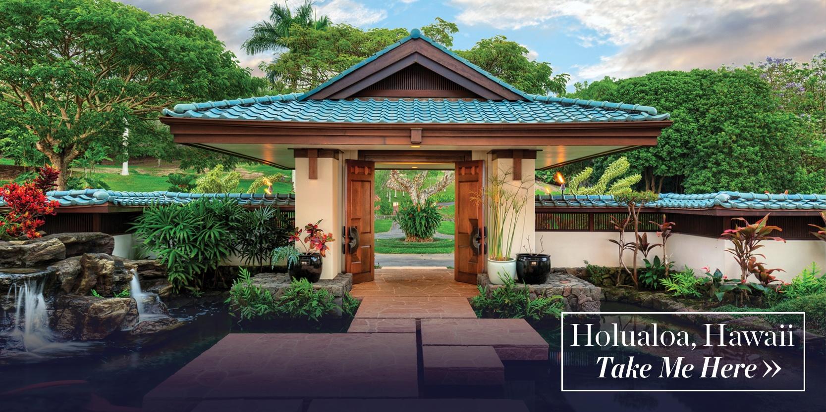 Big Island Estate on the Slopes of Hualalai, Holualoa, Hawaii