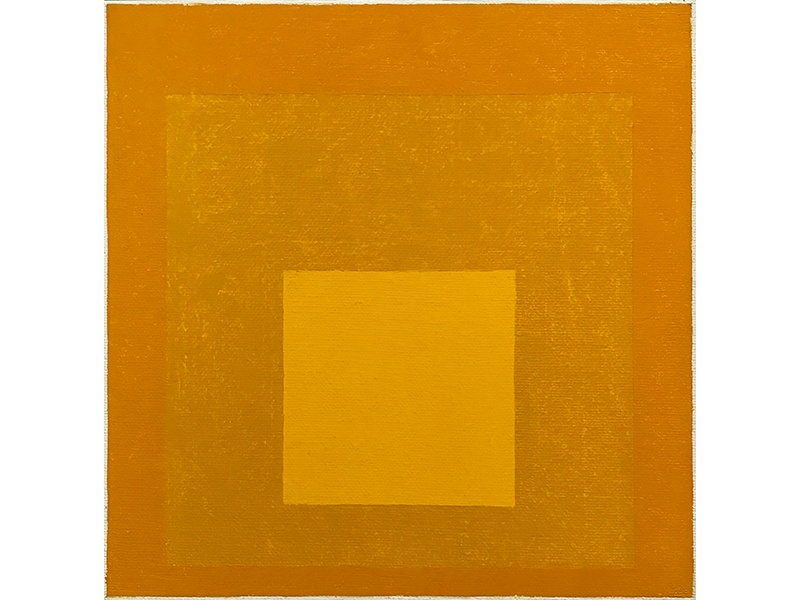 <i>Homage to the Square</i> by Josef Albers, 1976, oil on masonite. Exhibitor: ARCHEUS / POST-MODERN, London, UK