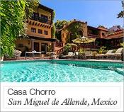 Casa Choro, San Miguel de Allende, Mexico