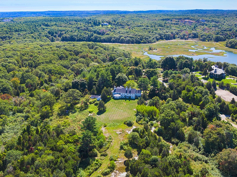 Just 40 minutes from Boston and located in tranquil West Gloucester, this classic Cape Ann estate sits on 35 acres surrounded by gardens and woodlands. On the market with LandVest Inc., an exclusive affiliate of Christie's International Real Estate.