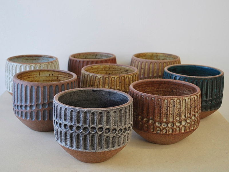 Specializing in hand-thrown artisinal ceramics, Irving Place Studio creates contemporary, elegant pieces for decorative or everyday use.