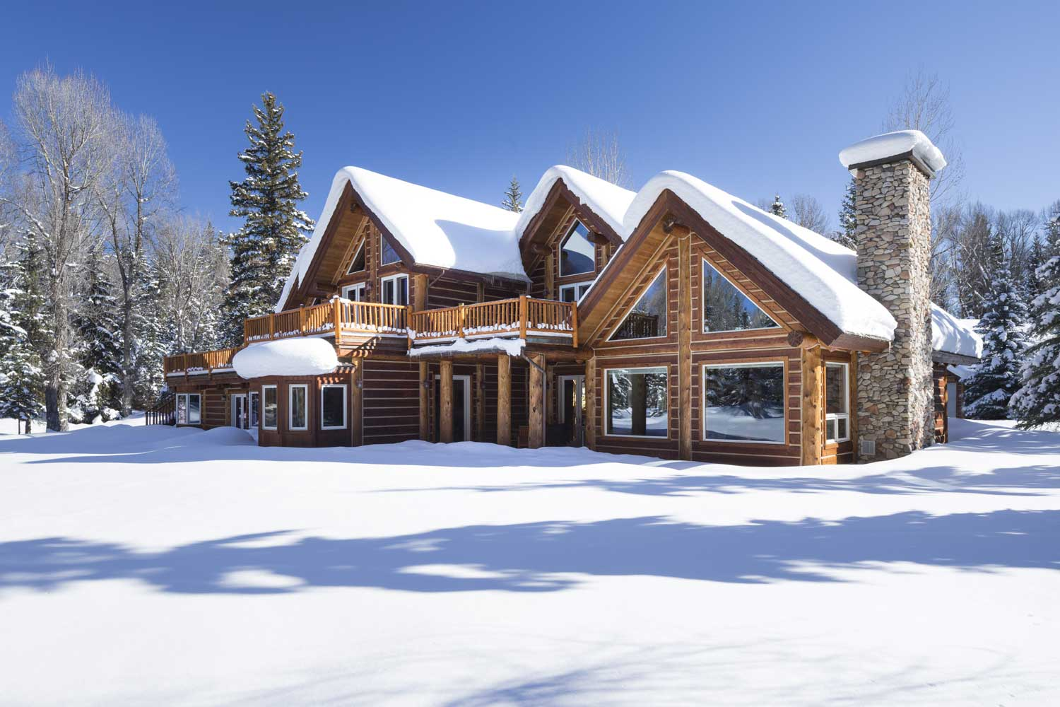 <b>Jackson, Wyoming</b><br/><i>4 Bedrooms, 5,535 sq. ft.</i><br/>Owl Creek mountain estate with mountain views
