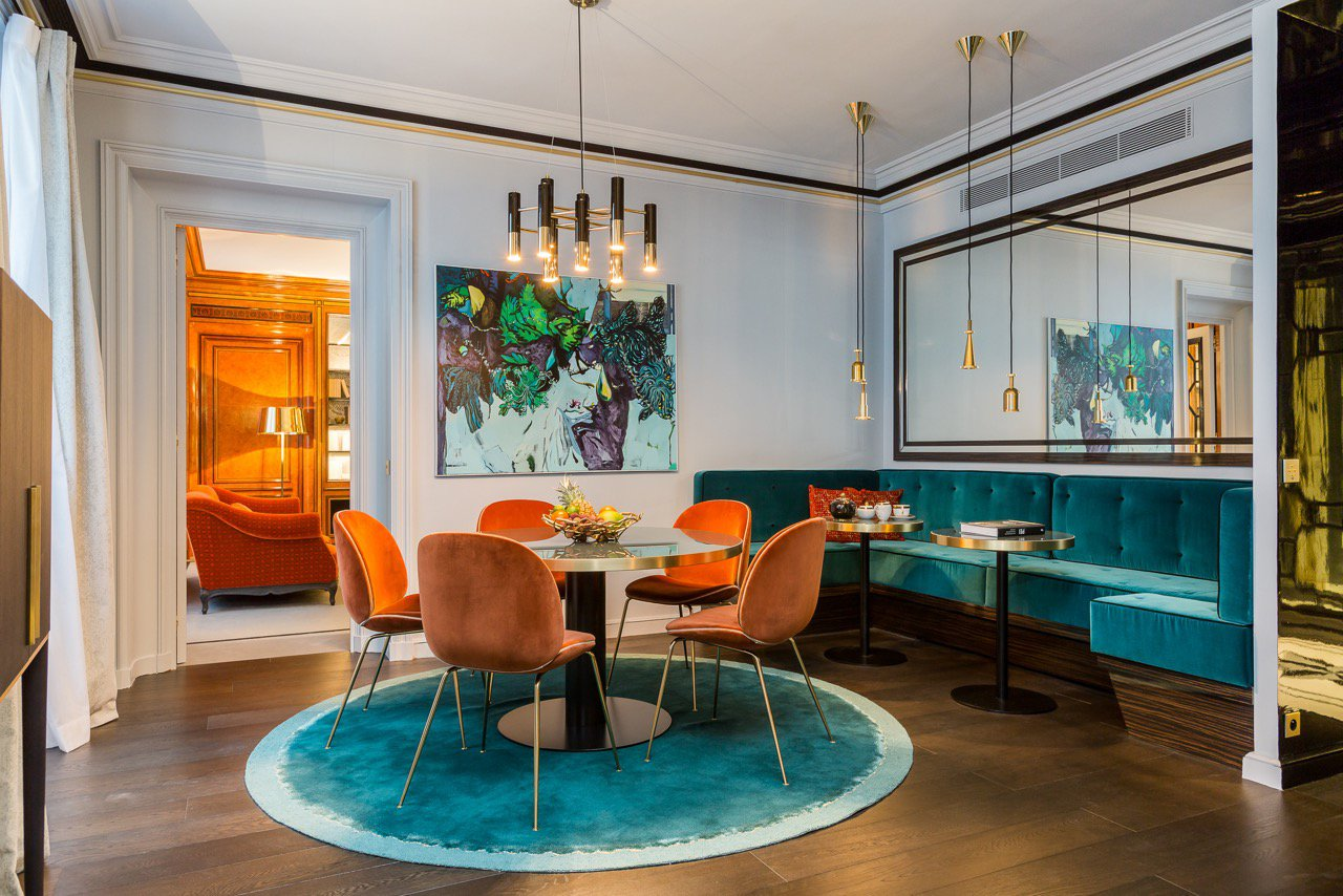 Other gracious appointments include a formal dining room and fully equipped contemporary kitchen.