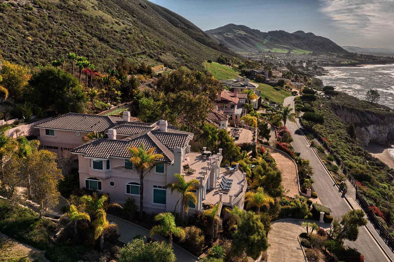 <b>Pismo Beach, California</b><br/><i>5 Bedrooms, 5,245 sq. ft.</i><br/>Italian-style five bedroom villa