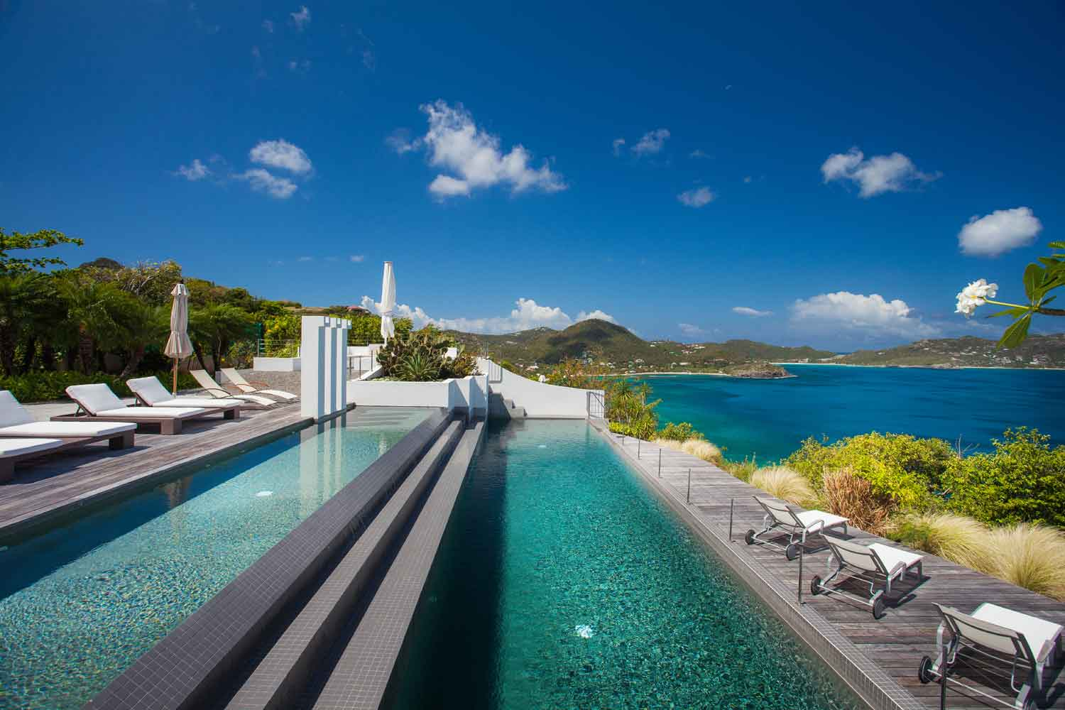 <b>Pointe Milou, St. Barthelemy</b><br/><i>3 Bedrooms, 2,842 sq. ft.</i><br/>Contemporary villa overlooking the sea
