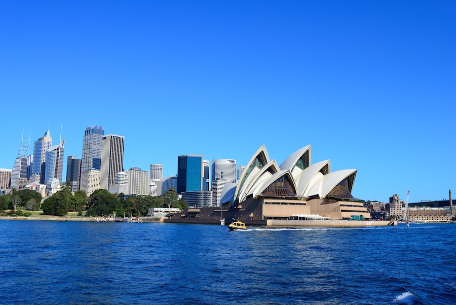 Sydney's famed Opera House not only makes the city's skyline unmistakable but offers a robust program of musical and theatrical performances.