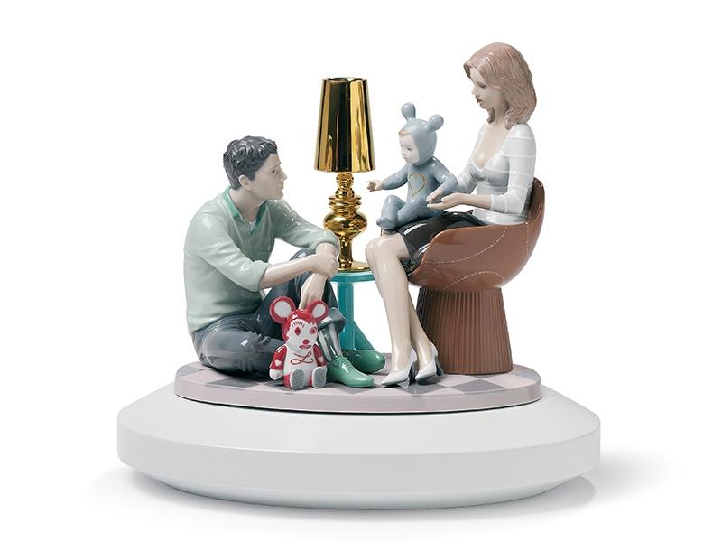 The Family Portrait, a design for porcelain company Lladró. Photograph: Hayon Studio