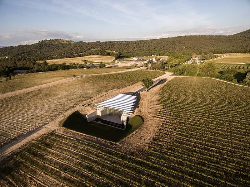 Château La Coste's Photography Pavilion, designed by the Renzo Piano Building Workshop. Photograph: Stéphane Aboudaram/WE ARE CONTENT(S)