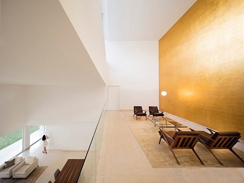The light-filled minimal interiors of Domus Aurea by Alberto Campo Baeza in Monterrey, northern Mexico. Photograph: Javier Callejas