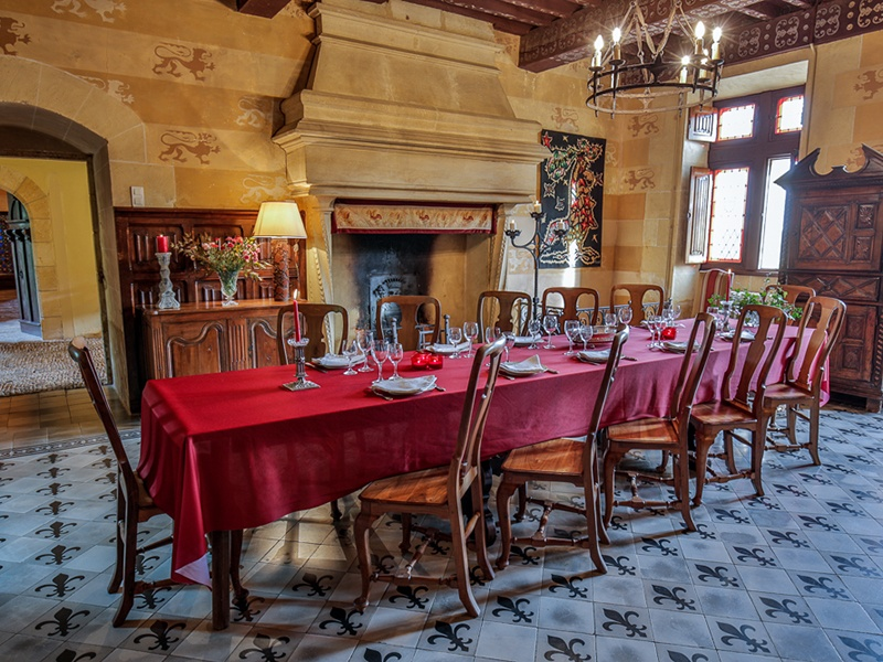 Built in the 17th century but enlarged and transformed in the 19th century, the chateau incorporates decorative elements that evoke its medieval history. Photograph: Maxwell-Baynes