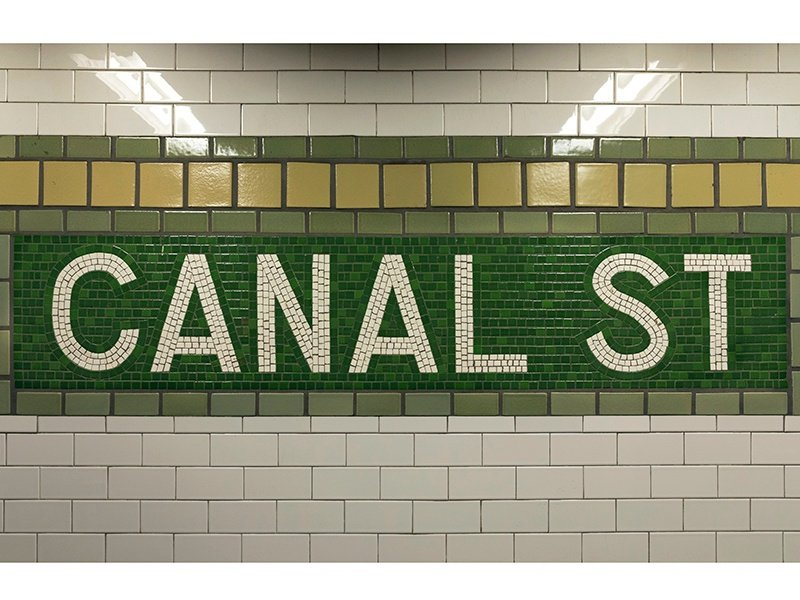 The glossy white tiles of New York City's subway stations are now commonly designed for kitchens and bathrooms, and in a variety of colors. Photograph: Getty Images
