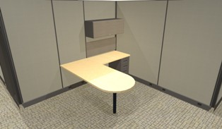 Modular offices with doors privacy cubicles