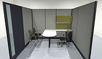modular offices with doors
