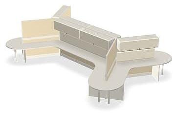 dogbone cubicles
