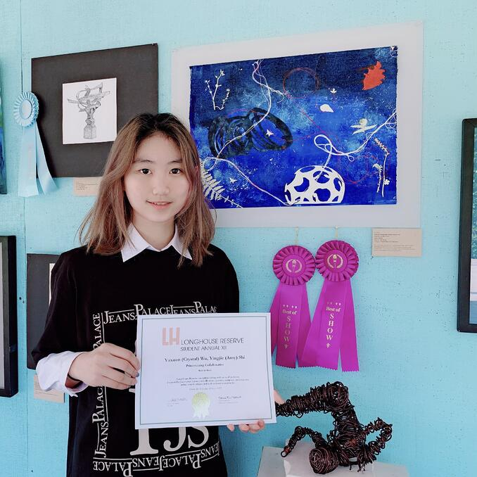 Winner Best in show 2019 Longhouse Student Annual