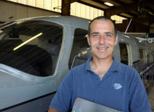 Aircraft Maintenance Director, Ed Novak