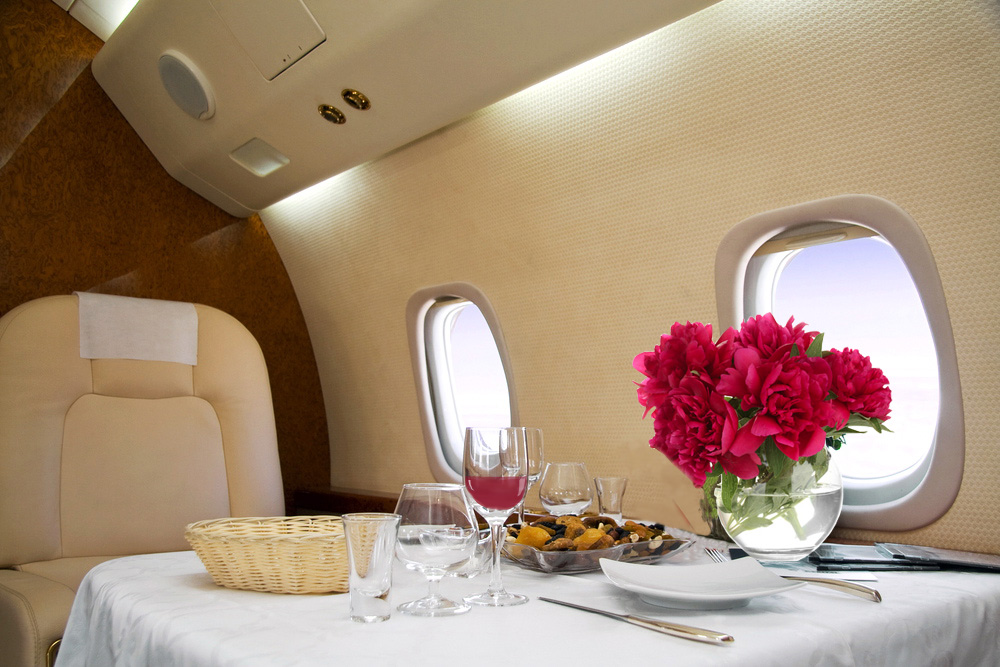 Private Air Charter Interior 2
