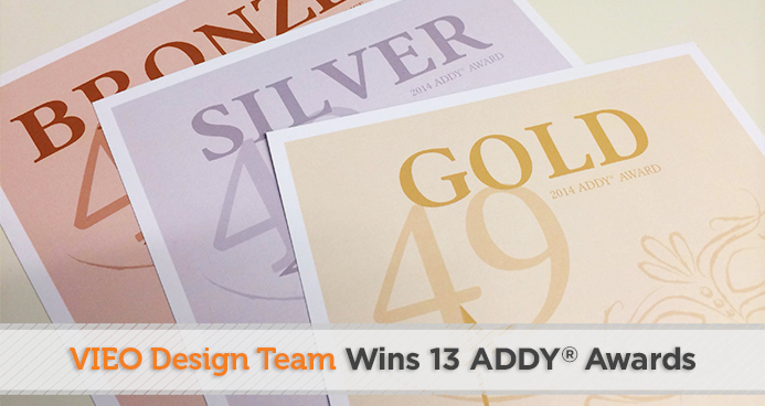 VIEO Design Wins 13 ADDY Awards
