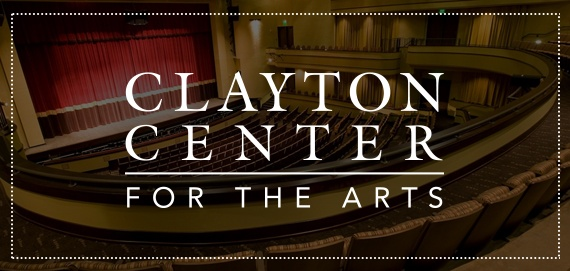 Clayton Center for the Arts Website and Logo