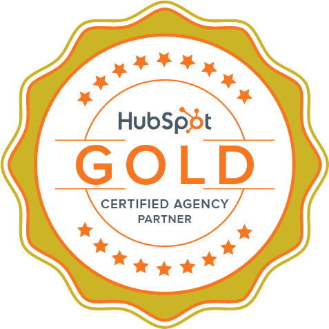VIEO Gold Hubspot Badge