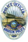 Anaheim Police Badge