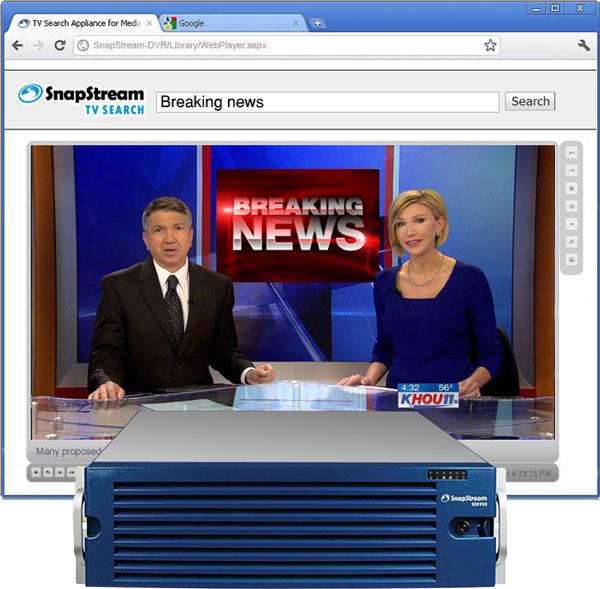 SnapStream TV Search