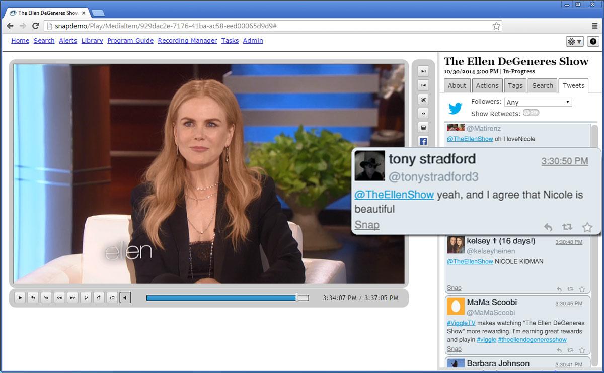 Live-tweet your TV show