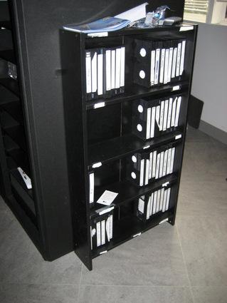 VHS tapes (at a media company in Washington DC)