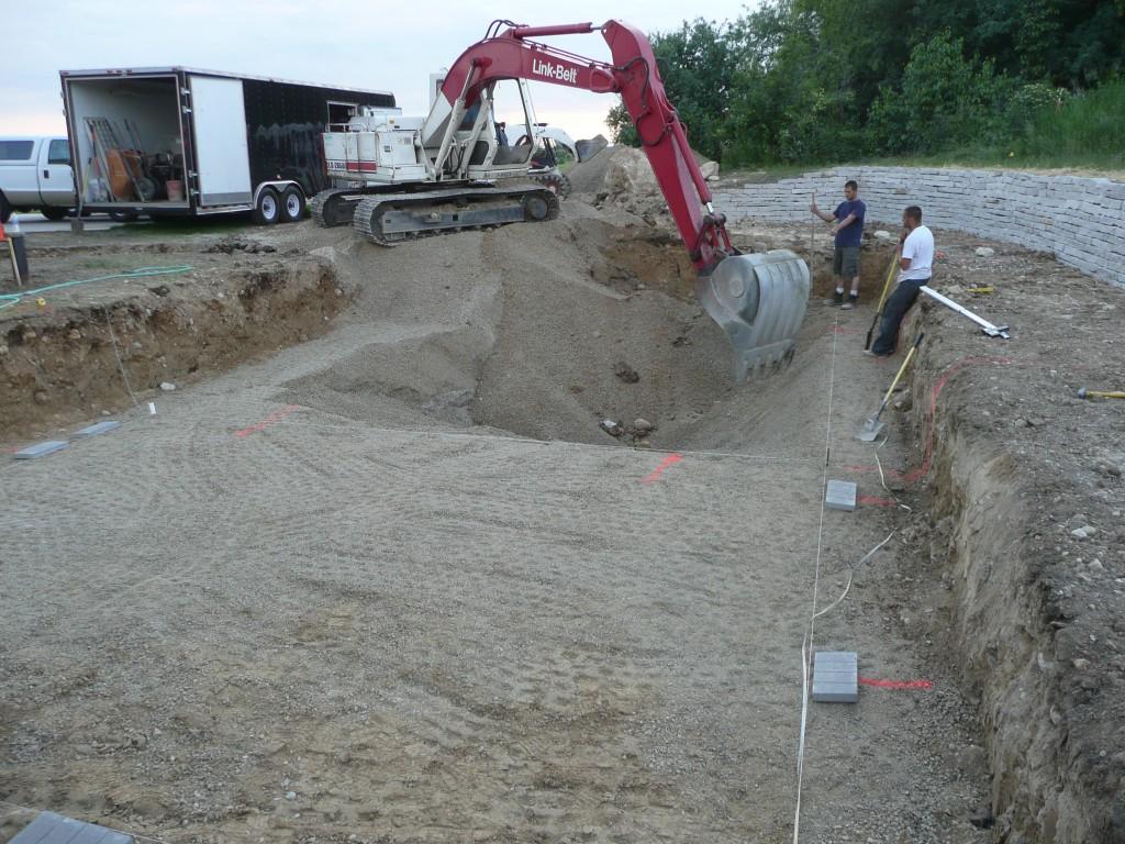 Pool Excavation Waukesha