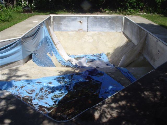 How To Replace A Vinyl Pool Liner