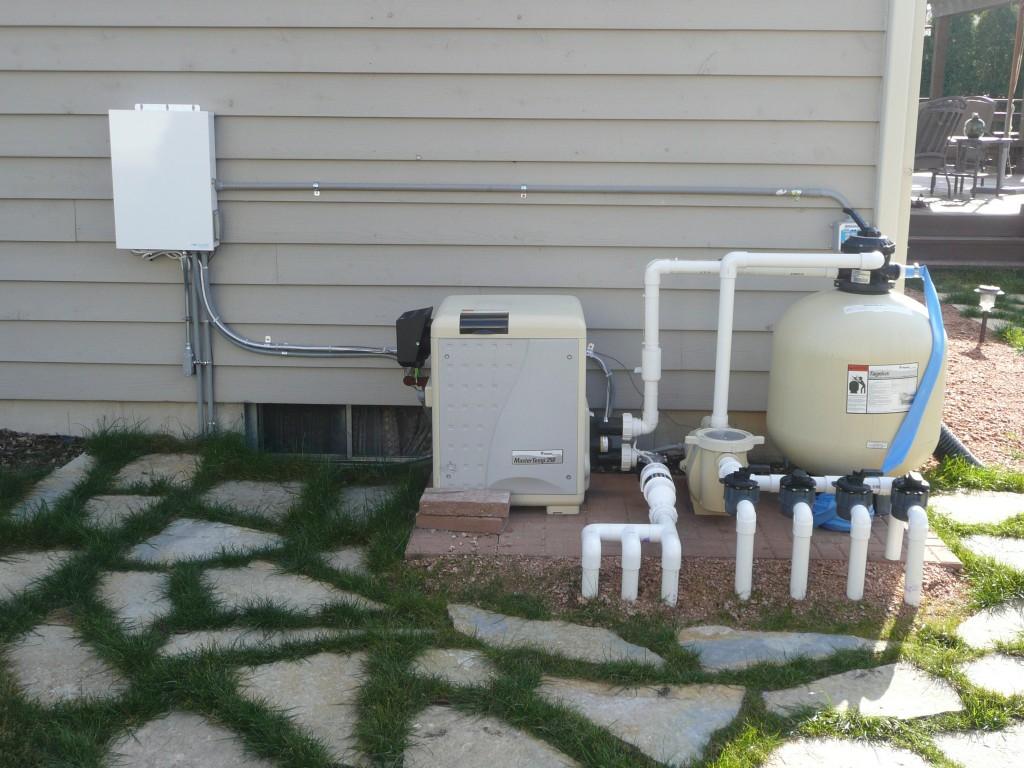 Inground Pool Pump And Filter Enclosure