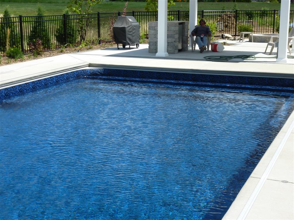 Custom Pool Steps Milwaukee