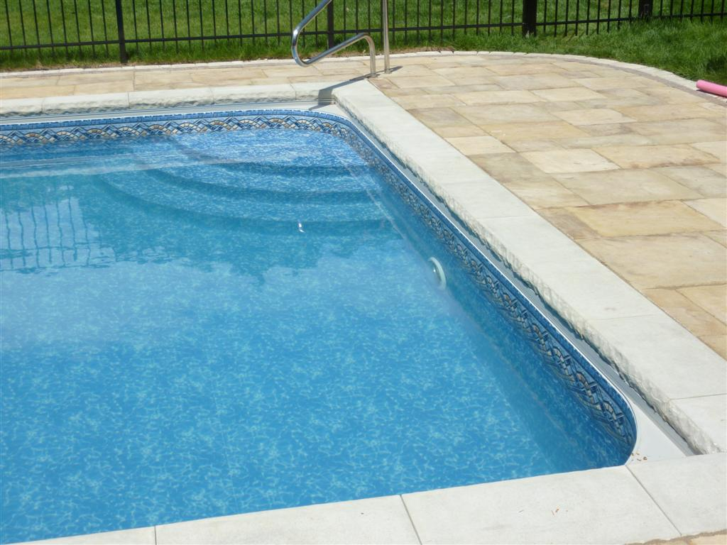 Custom pool steps for Foam concrete forms for pools