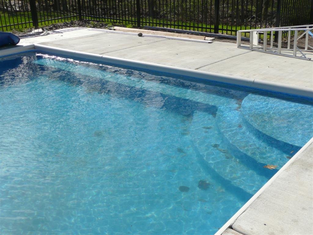 Custom Inground Pools custom pool steps