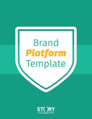 free brand platform template. Black Bedroom Furniture Sets. Home Design Ideas