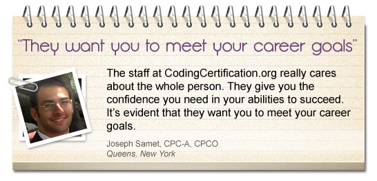 CPC® Exam Prep Testimonial Career