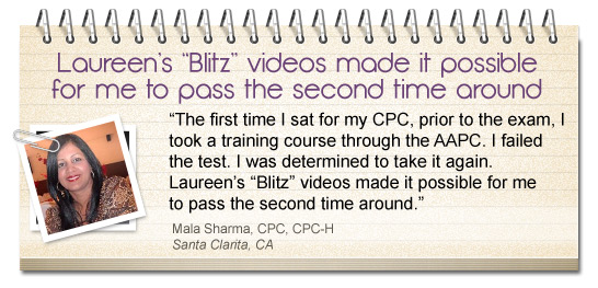 CPC® Exam Prep Testimonial 2nd Time