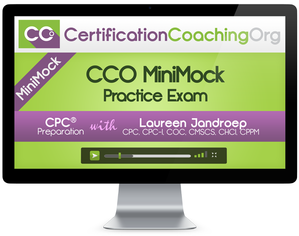 Medical coding training certification review blitz
