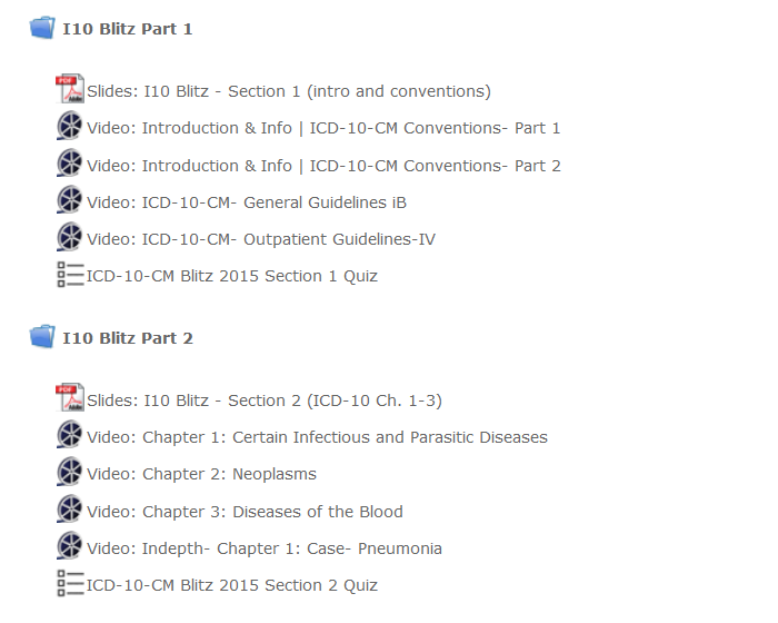 ICD-10-CM Proficiency Exam Course Members Area Part 2 Expanded
