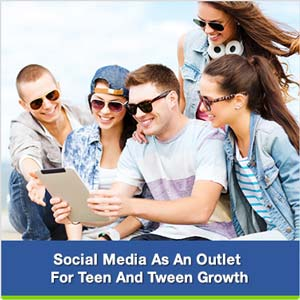 social media as an outlet